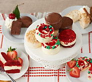 SH11/5 Juniors 32 Holiday Mini Cheesecake & Layer Cakes Auto-Delivery - M59879