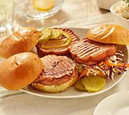 SH8/27 Rastelli Market Fresh (12) 4-oz Round Dog Hot Dogs - M60279