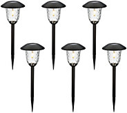 Paradise Set of 6 V-Filament Solar Light Set - M52280