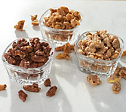 SH 12/3 Crazy Go Nuts (6) 7-oz Holiday Flavors Walnut Assortment - M59281