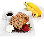 Marilyns (2) 24-oz Gluten-Free Banana Chip Pound Cakes - M117382