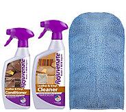Rejuvenate Leather/Vinyl Cleaner, Conditioner &Mitt Kit - M114983