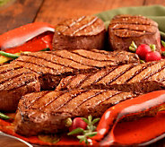 Kansas City (4) 10-oz Filet Mignons & (4) 16-oz Strip Steaks - M34784