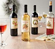 Vintage Wine Estates Holiday 12 Bottle Wine Set - M58986