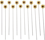 Ultimate Innovations Set of 12 Yard and Garden Stakes - M55587