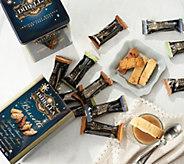 DiBella Famiglia (2) 24-Count Mini Biscotti in Holiday Tins - M59087