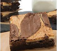 Davids Cookies 18-Pack Cheesecake Brownies - M116688