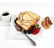 Marilyns (2)24 oz Gluten-Free Cinnamon Roll Pound Cakes - M117388