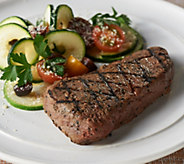 Rastelli Market Fresh (12) 6-oz Black Angus Sirloin Steaks - M57788