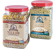 Farmer Jons (2) 4-lb Jars - Virtually Hulless Kernels - M116290