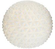 Barbara King 9 Illuminated Embossed Sandstone Sphere - M54891