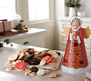 SH 11/5 Cheryls Angel Tin with 45 Cookies and Confections - M59391