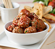 Mama Mancinis 80 Count Beef or Turkey Mini Meatballs with Sauce - M54092
