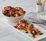 Graham & Rollins 4 lbs Bacon Wrapped Sea Scallops - M56492