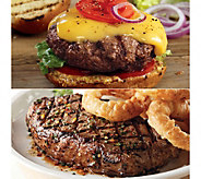 Kansas City Steaks (6) 10-oz KC Strips & (8) 4-oz Steakburger - M106493