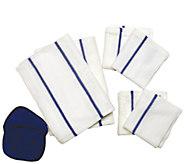 Don Asletts 8-Piece Microfiber Kitchen Towel Set - M114593