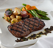 Rastelli Market Fresh (16) 6 oz. Black Angus Sirloin Steaks - M53893
