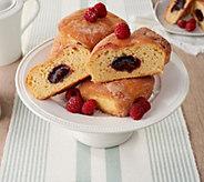 SH 12/3 Jimmy The Baker (12) Raspberry Jam Brioche Donuts Auto-Delivery - M59893