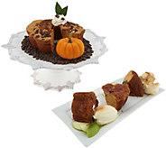 SH 10/8 My Grandmas 28-oz Pumpkin Choc Chip & Apple Cakes - M60293
