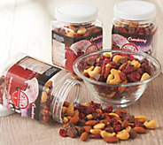 Germack (5) 8-oz Jars of Cashew Cranberry Truffle Mix - M61194