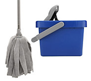Don Asletts Microfiber Mop and Bucket - M114595