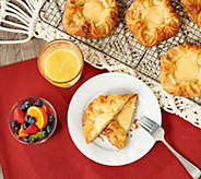 Ships 4/8 Authentic Gourmet (24) Cheese Danish Auto-Delivery - M63095