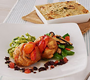Graham & Rollins (8) 4oz Lobster Crab Cakes & (2) Crab Dips - M50996