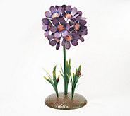 Plow & Hearth Metal Flower Bouquet Garden Accent - M60398