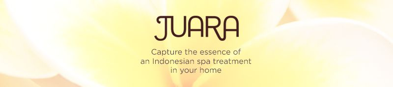 JUARA. Capture the essence of an Indonesian spa treatment in your home