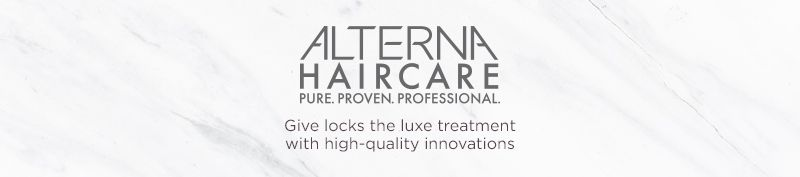 Alterna. Give locks the luxe treatment with high-quality innovations