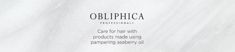 Obliphica. Care for hair with products made using pampering seaberry oil