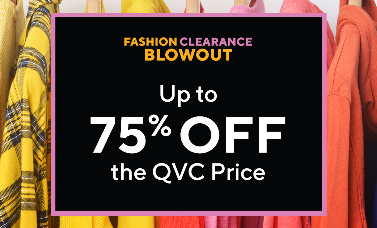 Clearance Deals Online — QVC.com