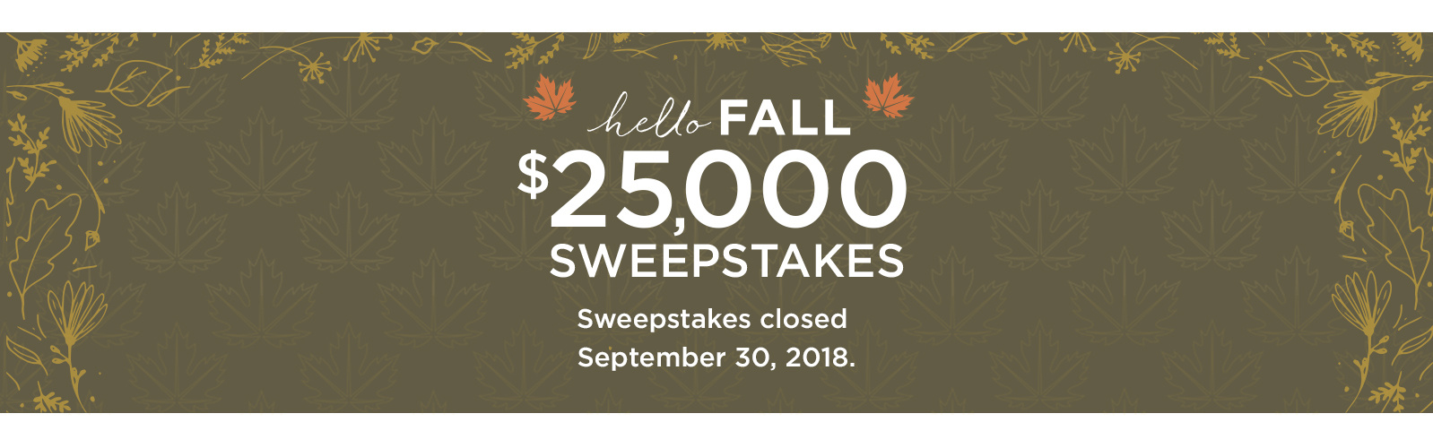 Sweepstakes Winners — QVC com