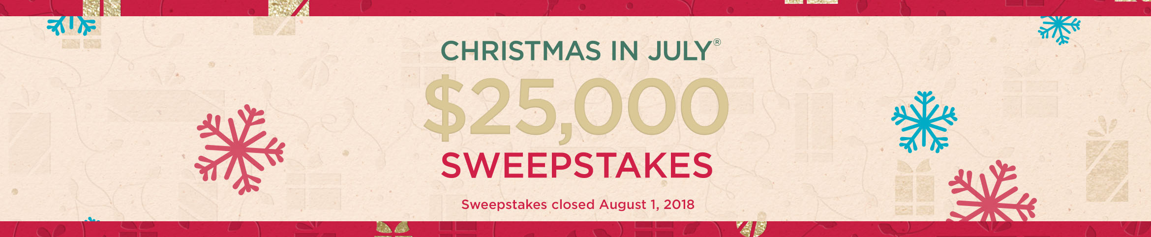 CIJ Sweeps logo  Sweepstakes closed August 1, 2018