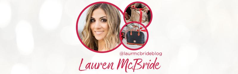 Lauren McBride. @laurmcbrideblog