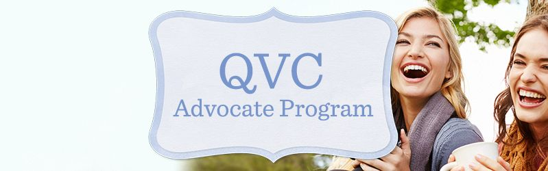 QVC Advocate Program  Share what you love about QVC & earn commission: 10% for existing customer sales & 15% when a new customer makes their first QVC purchase.