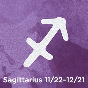 Sagittarius 11/22–12/21