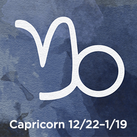 Capricorn 12/22–1/19