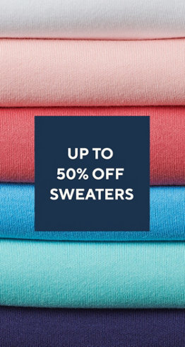 Up to 50% off Sweaters & Cardigans
