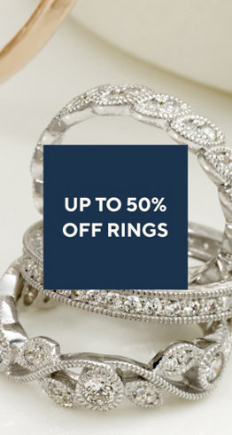 Up to 50% off Rings