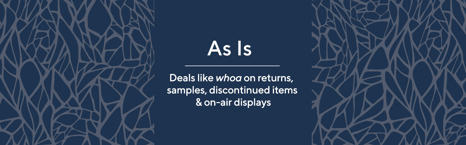 145e9047559c As-Is Products - Discontinued Items