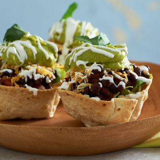 Vegetarian Taco Cups