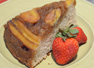Bourbon Banana Upside-Down Cake