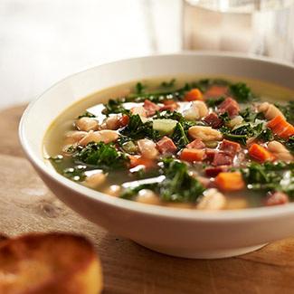 Cannellini, Sausage & Kale Soup