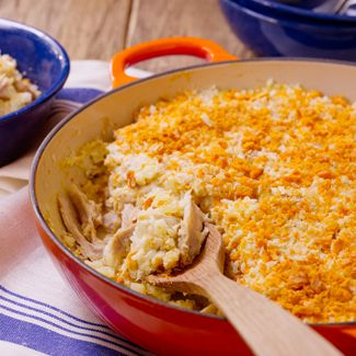 Mom's Chicken & Rice Casserole