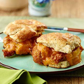 Chicken N'Cheddar Biscuit