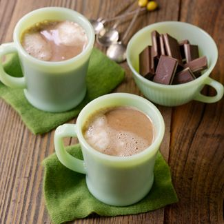 Chocolate Mint Hot Chocolate