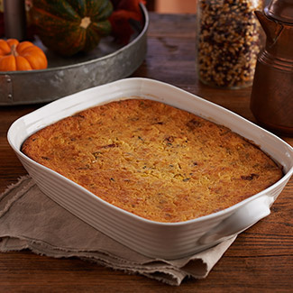 Corn and Bacon Pudding