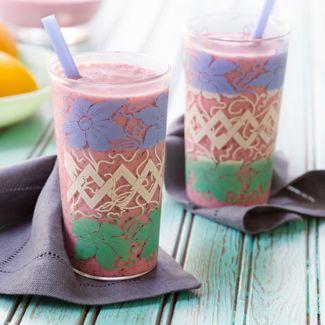 Creamy Tropical-Berry Smoothie