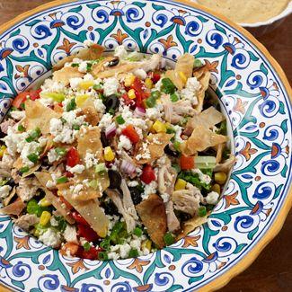 Deconstructed Enchilada Salad